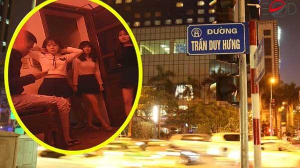 Sự thật chấn động về mại dâm kiểu côn đồ trấn lột ở Trần Duy Hưng