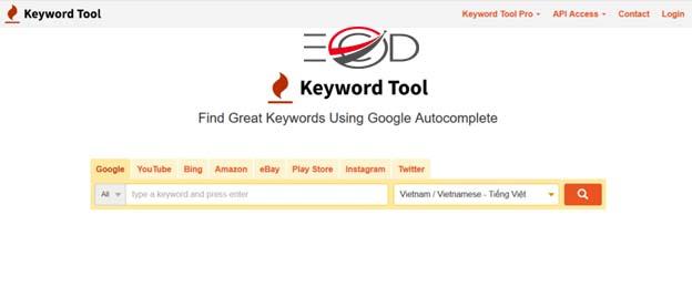 KeywordTool là gì