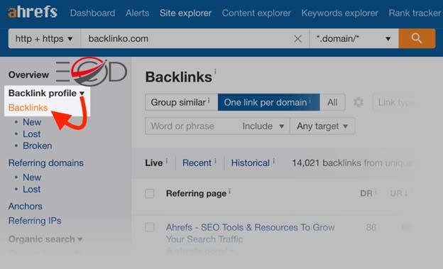nghiên cứu backlink