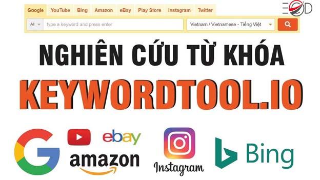 phần mềm KeywordTool