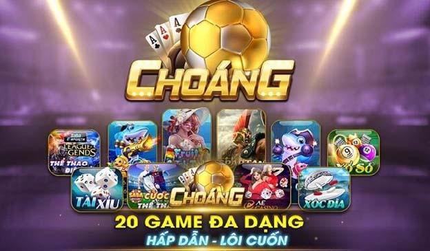 Choang Club mang tới cho các người chơi hệ thống game đổi thưởng đa dạng.